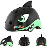 Mingzheng Kid's Multi-Sport Bike Helmet for 3-12 Years Old Boys and Girls Youth Adjustable Safety Helmet for Roller Skating Skateboard BMX Scooter Cycling