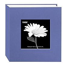 Pioneer Photo Albums 100 Pocket Fabric Frame Cover Photo Album, Sky Blue