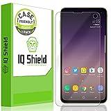 Samsung Galaxy S10e Screen Protector (5.8')[Case Friendly](2-Pack), IQ Shield LiQuidSkin Full Coverage Screen Protector for Samsung Galaxy S10e HD Clear Anti-Bubble Film