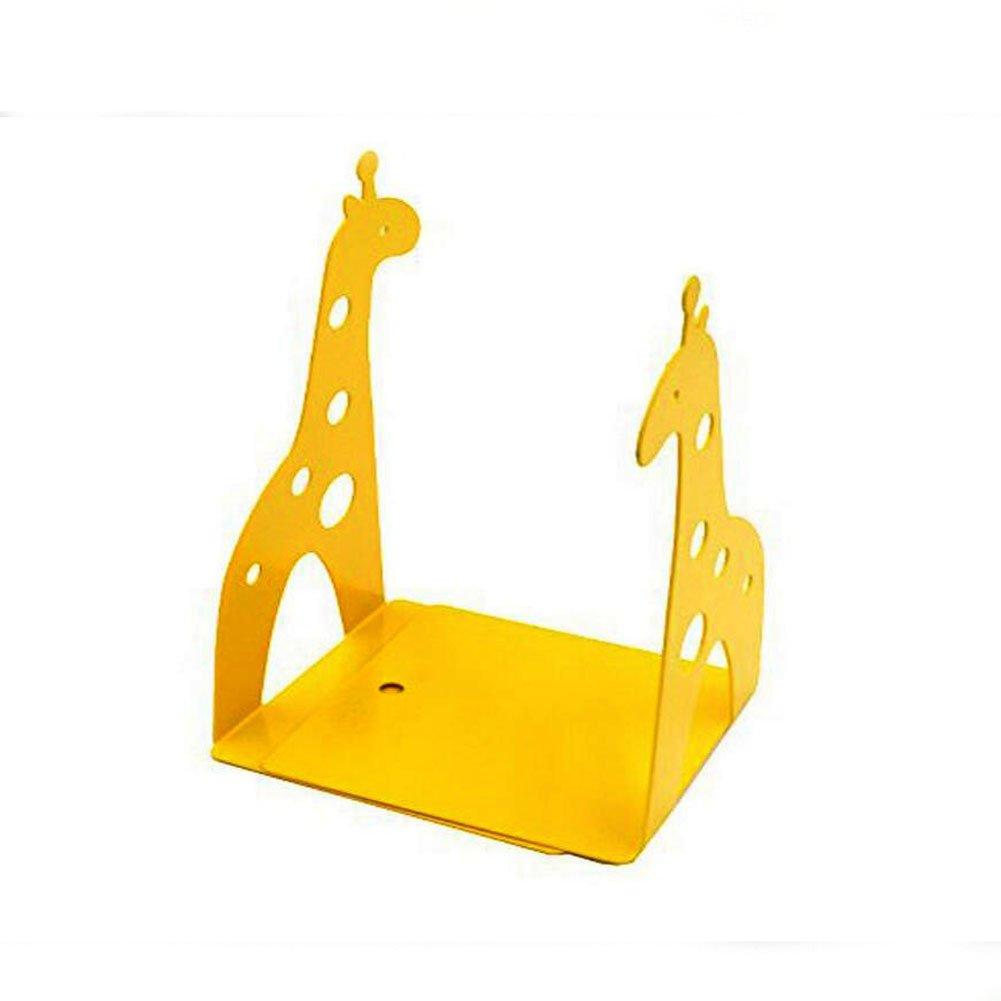 Cute Giraffe Nonskid Bookends Book Ends Organizer Bookend Art Gift,1 Pairs,Yellow by TOBSON (Image #4)