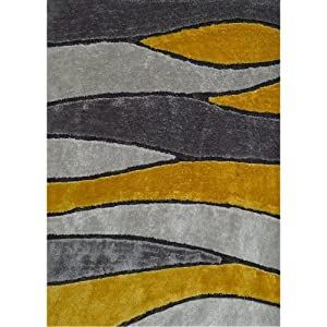 Mustard Area Rug Home Decor