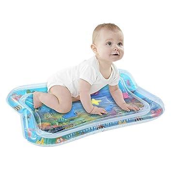Film- & TV-Spielzeug Wasser Spielen Mat für Kleinkinder Aufblasbar Spaß Bauch Zeit Spielen Aktivität