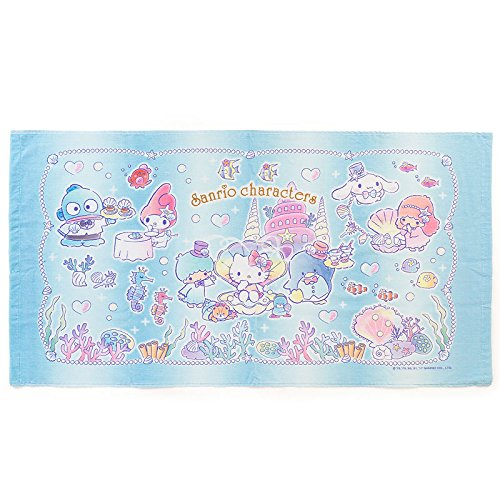 Under Sea Costumes The Nz (Sanrio Sanrio Characters bath towel PARTY UNDER THE SEA From Japan)