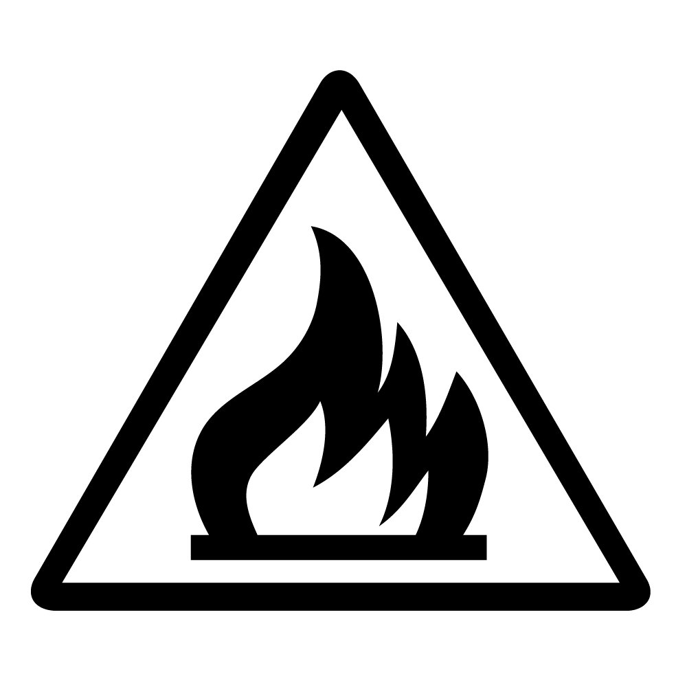Amazon auto vynamics bmpr triangle flammable 5 gbla gloss amazon auto vynamics bmpr triangle flammable 5 gbla gloss black flammable materials symbol caution triangle warning sign 1 decal buycottarizona
