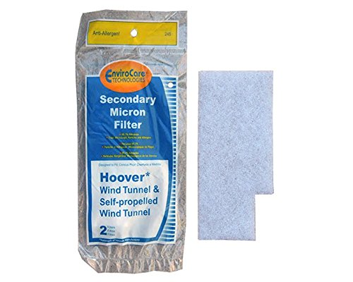 Filter Upright Secondary (EnviroCare Replacement Secondary Vacuum Filter for Hoover Windtunnel Vacuums)