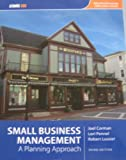 Small Business Management : A Planning Approach, Corman, Joel and Pennel, Lori, 1426630492