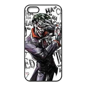 Joker funda iPhone 5 U2J77T3ZX caso 5s funda WP4B63 negro