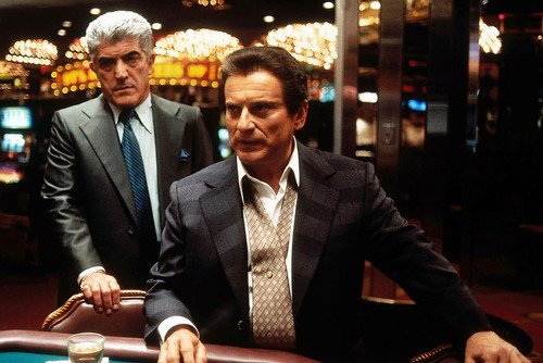 Joe Pesci and Frank Vincent in Casino at Tables 11x17 Mini Poster