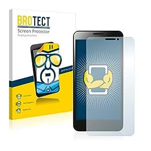 2x BROTECT HD-Clear Protector Pantalla Coolpad F2 Película Protectora – Transparente, Anti-Huellas
