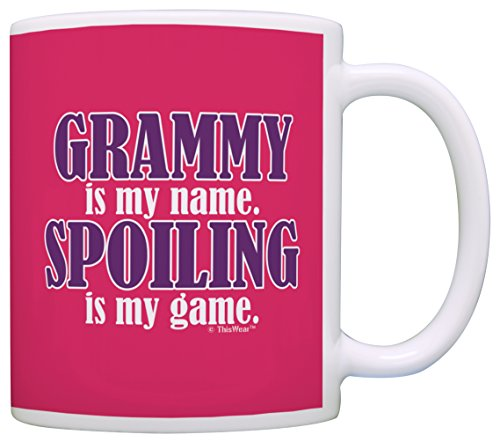 Mothers Grammy Spoiling Funny Coffee