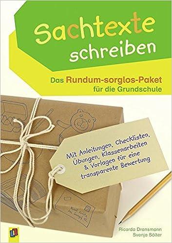 Sachtexte Schreiben Das Rundum Sorglos Paket Für Die Grundschule