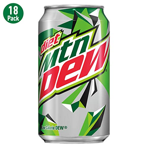 18-Pack Diet Mountain Dew 12 Fl Oz Cans Now $4.75