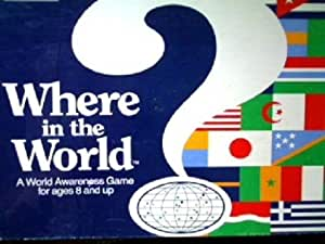 Where in the World? 1986 By Aristoplay, Ltd.