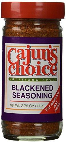 Cajun Choice Seasoning Blackened 2.75 OZ (Pack of 2) (Best Cajun Seasoning Brands)