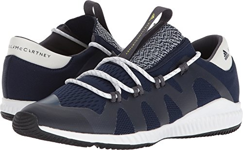 Adidas Door Stella Mccartney Vrouwen Crazytrain Pro Sneakers Collegiale Marine / Kern Wit / Aero Lime S11