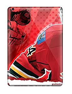 ChrisPeters Design High Quality Hockey Nhl Calgary Flames Miikka Kiprusoff D Cover Case With Excellent Style For Ipad Air