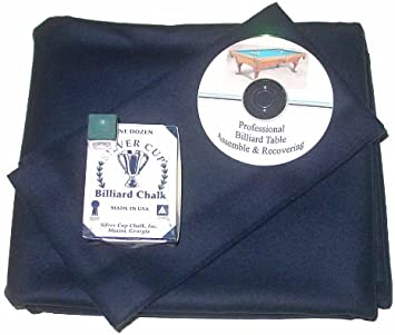 SHIPS FAST! 9/' Spruce ProLine Classic TEFLON Billiard Pool Table Cloth Felt