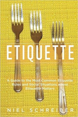 Etiquette Common Situations Matters Gentleman ebook