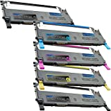 1 Pack + 1 Black of Total 5 Remanufactured Samsung CLP-315 Toner Cartridges Samsung CLP-315 CLT-K409S CLT-C409S CLT-M409S CLT-Y409S for Samsung CLP-315 Black Cyan Magenta Yellow Combo Set, Office Central