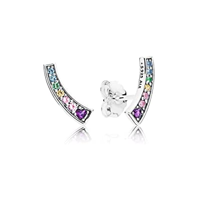 9e1b8e729 Amazon.com: PANDORA Arches, Multi-Colored Cz And Crystals ...