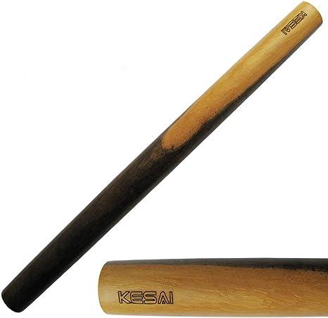 rodillo de masa para hornear masa de pizza Rodillo antiadherente Pasadores de madera para hornear de 30 cm por 3,5 cm Rodillo de madera de cocina pastel y galletas