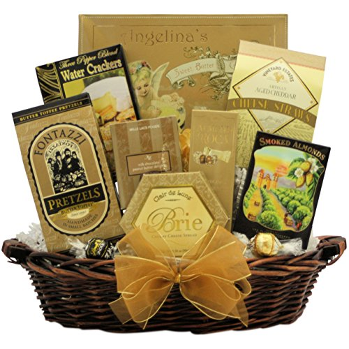 New Year's Delights: Gourmet New Year's Gift Basket