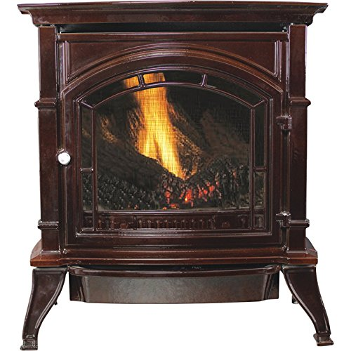 pleasant hearth propane fireplace - 9