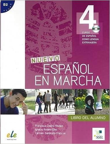 amazon nuevo espanol en marcha 4 student book with cd curso de