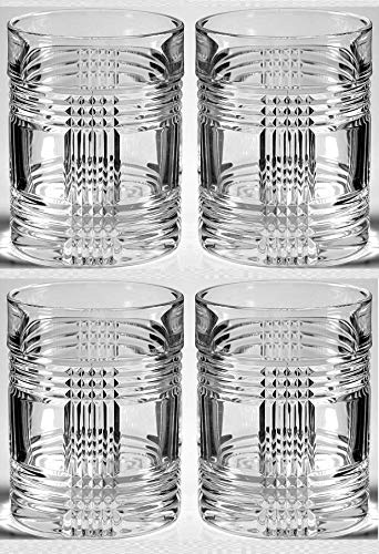 Fashioned Set Double Old (Ralph Lauren Glenplaid Double Old Fashioned Glass (Set of 4))