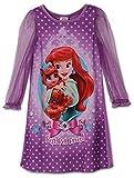Disney Little Girls Ariel Palace Pets Gown Long Sleeve K157453PN 2T