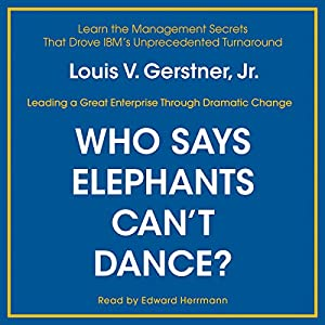 Who Says Elephants Can't Dance? Audiobook