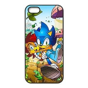 Generic for iPhone 4 4s Cell Phone Case Black Sonic the Hedgehog Custom HFOKHJHLK4145