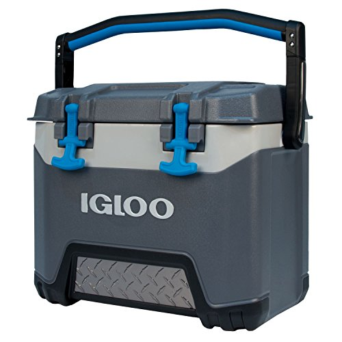 Igloo BMX 25 Quart Cooler - Carbonite Gray/Carbonite - Igloo Blue