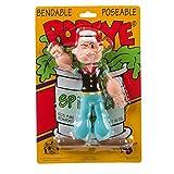NJ Croce Popeye Bendable Toy Figure, 6 1/2