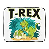 17 Inch Laptop Sleeve T-Rex Dinosaur Tyrannosaurus Baby