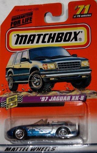 - Matchbox 1998-71 Street Cruisers '97 Jaguar XK-8 BLUE 1:64 Scale
