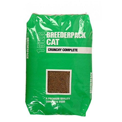 Breederpack Complete Crunchy Dry Cat Food, 15 kg