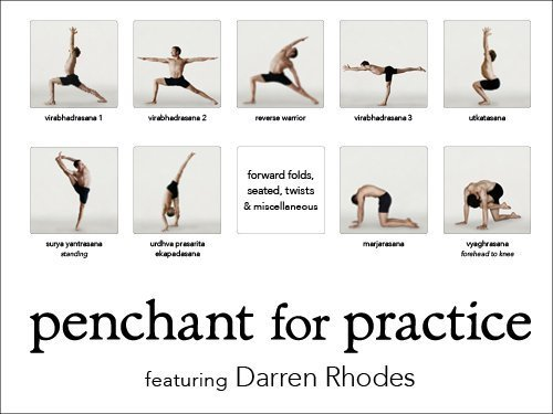 Amazon Penchant For Practice Poster With Darren Rhodes Anusara Yoga Posters Prints