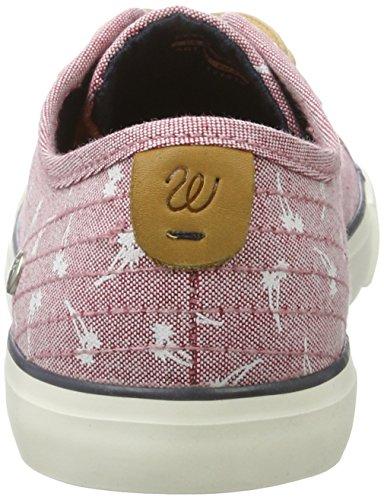 Wrangler Damen Starry Sneakers Mehrfarbig (RED)
