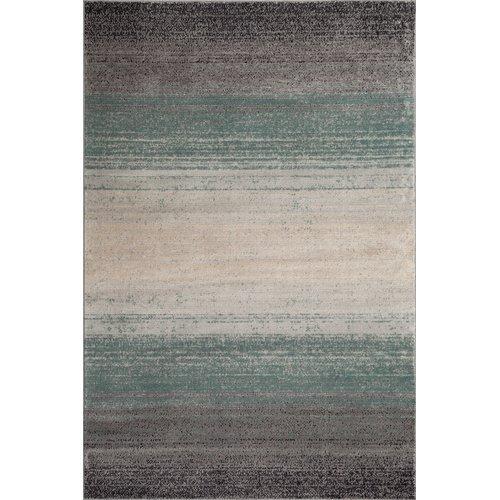 Ebern Designs Clore Ombre Blue/Gray Area Rug Rectangle 2' x 3'
