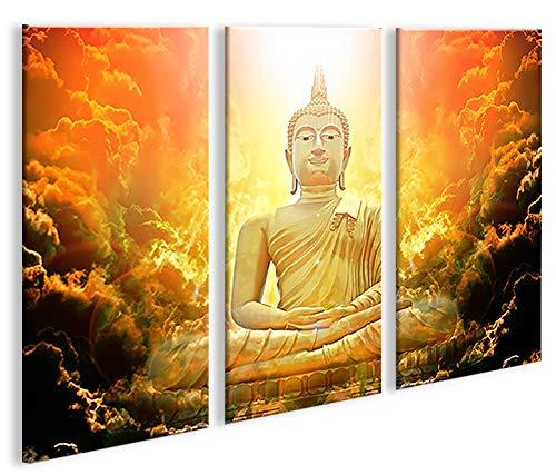 De Imágenes sobre lienzo Zen Buda V3 3p abstracto Yoga XXL ...