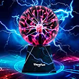 Plasma Ball, Theefun Touch & Sound Sensitive Plasma Lamp, Nebula Sphere Plasma Globe Novelty Toy for Decorations/Kids/Bedroom