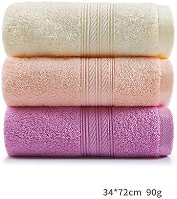 LINGZHIGAN Toalla de microfibra de hotel de algodón puro casero puro de lujo más grueso Baño casero de absorción de agua suave para adultos toalla de ...