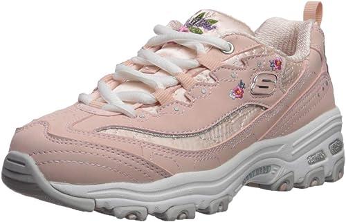 Skechers Kids' D'Lites Bright Blossoms Sneaker