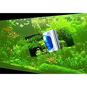 Jasonwell Magnetic Aquarium Fish Tank Glass Algae Glass Cleaner Scrubber Floating Clean Brush 10
