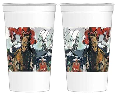 Kentucky Derby Artwork 16oz Beverage Cups