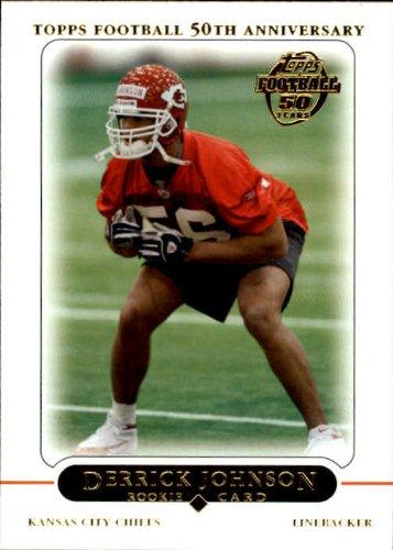 Rookie Card #380 Derrick Johnson Near Mint/Mint ()