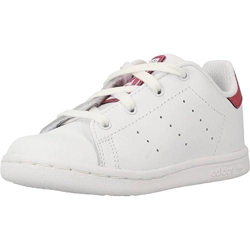 the latest 8c31a 5757d adidas Stan Smith i, Scarpe da Fitness Unisex-Bambini, Bianco (Ftwbla