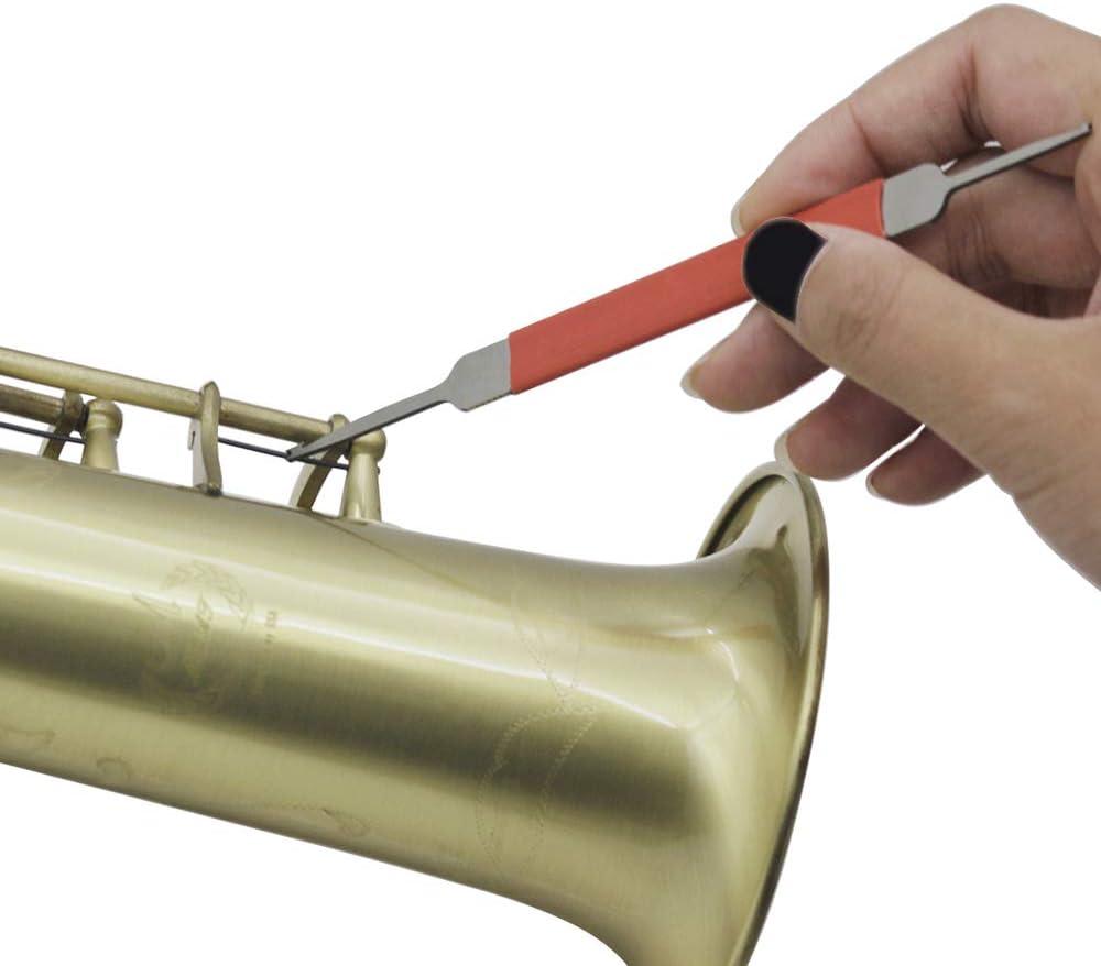 Kalaok Woodwind Instrument Repair Tool Kit Maintenance Metal Spring Hook for Oboe Flute Saxophone Clarinet