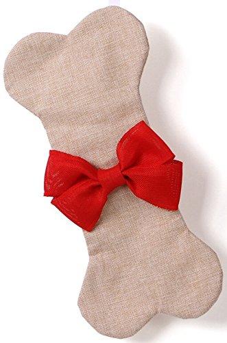 MWPlanet LLC Holiday Deal Dog Christmas Stocking Bone RED